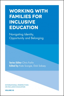 Jacket image for Working with Families for Inclusive Education