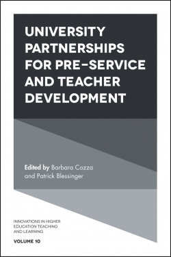 Jacket image for University Partnerships for Pre-service and Teacher Development