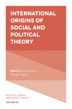 Jacket image for International Origins of Social and Political Theory
