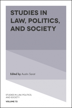 Jacket image for Studies in Law, Politics, and Society
