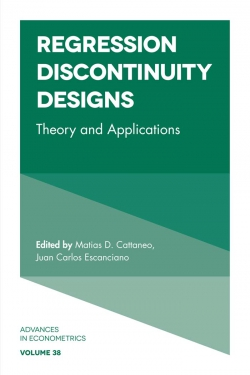 Jacket image for Regression Discontinuity Designs