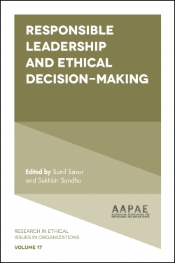 Jacket image for Responsible Leadership and Ethical Decision-Making