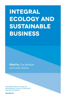 Jacket image for Integral Ecology and Sustainable Business