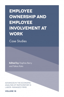 Jacket image for Employee Ownership and Employee Involvement at Work