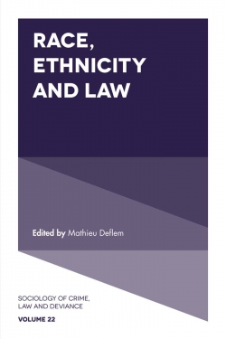 Jacket image for Race, Ethnicity and Law