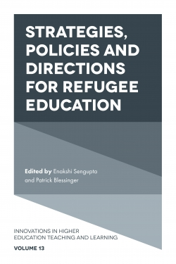 Jacket image for Strategies, Policies and Directions for Refugee Education