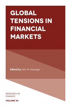 Jacket image for Global Tensions in Financial Markets