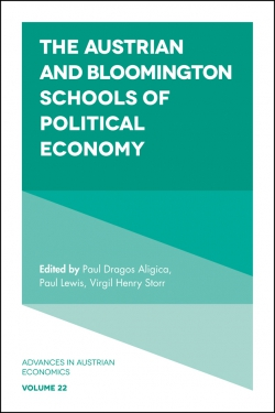 Jacket image for The Austrian and Bloomington Schools of Political Economy