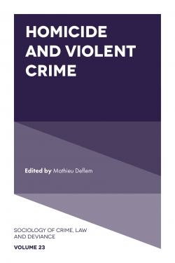 Jacket image for Homicide and Violent Crime