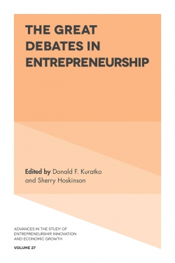 Jacket image for The Great Debates in Entrepreneurship