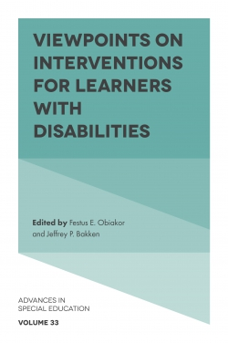 Jacket image for Viewpoints on Interventions for Learners with Disabilities