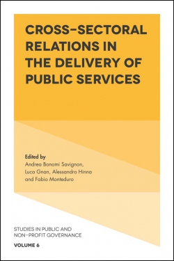 Jacket image for Cross-Sectoral Relations in the Delivery of Public Services