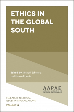 Jacket image for Ethics in the Global South