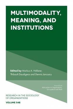Jacket image for Multimodality, Meaning, and Institutions