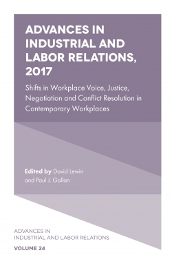 Jacket image for Advances in Industrial and Labor Relations, 2017