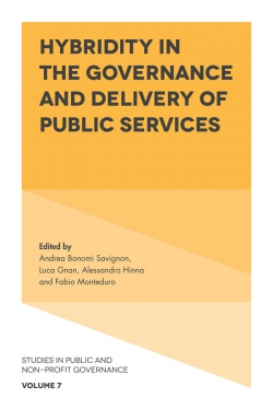 Jacket image for Hybridity in the Governance and Delivery of Public Services