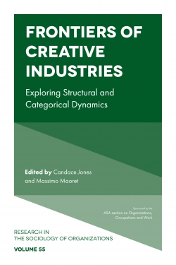 Jacket image for Frontiers of Creative Industries