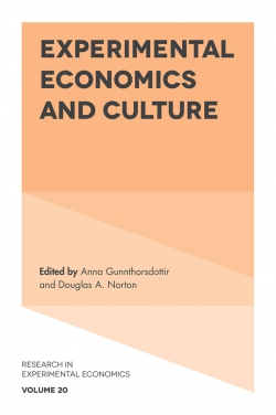 Jacket image for Experimental Economics and Culture