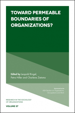 Jacket image for Toward Permeable Boundaries of Organizations?