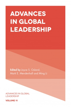 Jacket image for Advances in Global Leadership