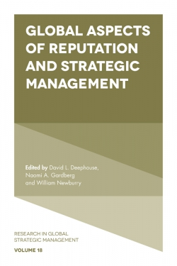 Jacket image for Global Aspects of Reputation and Strategic Management