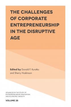Jacket image for The Challenges of Corporate Entrepreneurship in the Disruptive Age