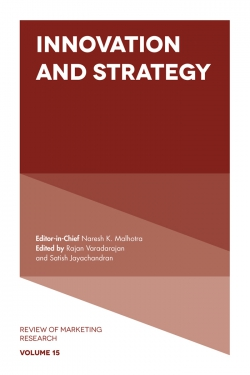 Jacket image for Innovation and Strategy