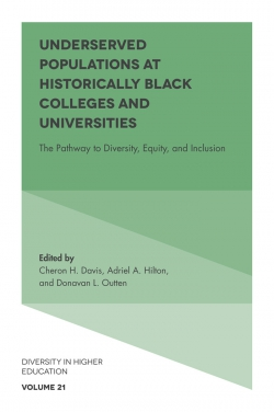 Jacket image for Underserved Populations at Historically Black Colleges and Universities