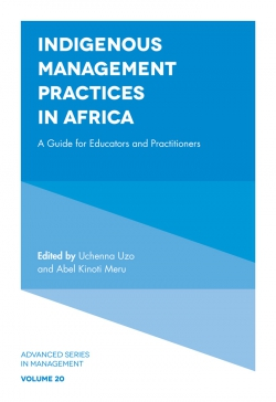 Jacket image for Indigenous Management Practices in Africa