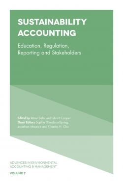 Jacket image for Sustainability Accounting