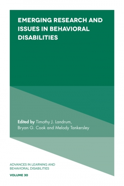 Jacket image for Emerging Research and Issues in Behavioral Disabilities