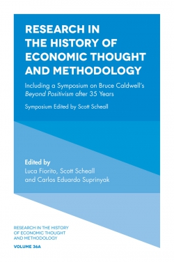 Jacket image for Research in the History of Economic Thought and Methodology