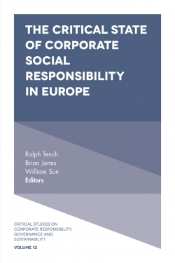 Jacket image for The Critical State of Corporate Social Responsibility in Europe