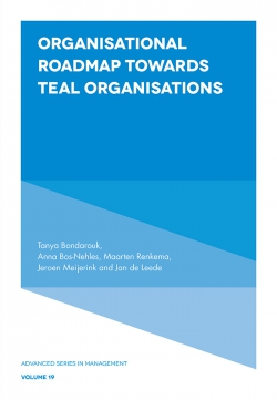 Jacket image for Organisational Roadmap Towards Teal Organisations