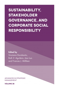 Jacket image for Sustainability, Stakeholder Governance, and Corporate Social Responsibility