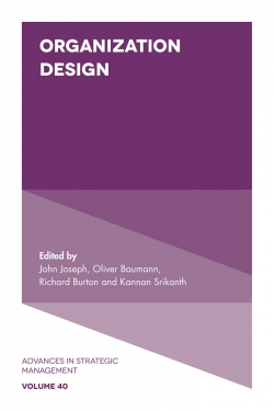 Jacket image for Organization Design