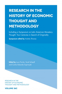 Jacket image for Including a Symposium on Latin American Monetary Thought