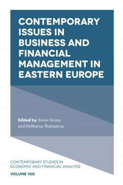 Jacket image for Contemporary Issues in Business and Financial Management in Eastern Europe