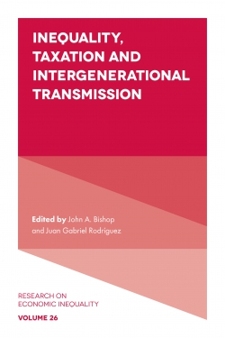 Jacket image for Inequality, Taxation, and Intergenerational Transmission