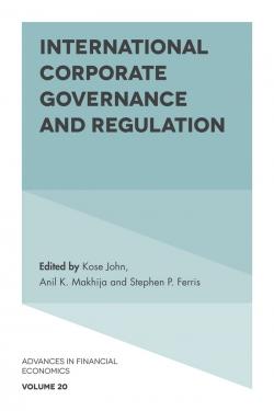 Jacket image for International Corporate Governance and Regulation