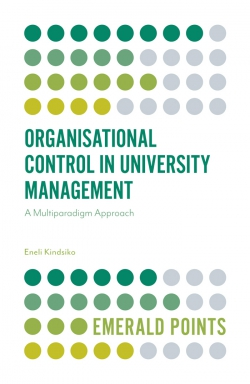 Jacket image for Organisational Control in University Management