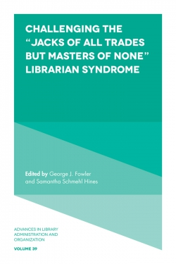 "Jacket image for Challenging the ""Jacks of All Trades but Masters of None"" Librarian Syndrome"