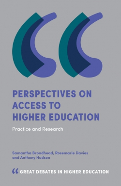 Jacket image for Perspectives on Access to Higher Education