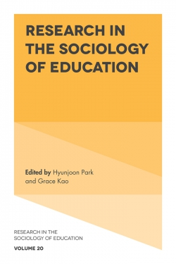 Jacket image for Research in the Sociology of Education