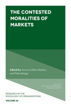 Jacket image for The Contested Moralities of Markets