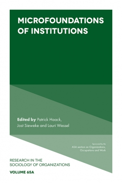Jacket image for Microfoundations of Institutions