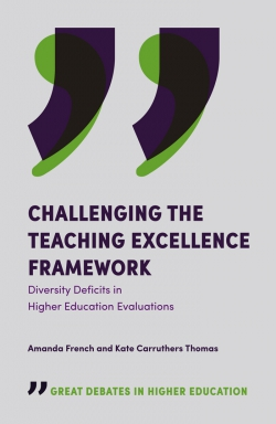 Jacket image for Challenging the Teaching Excellence Framework