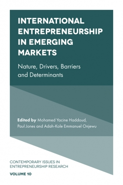 Jacket image for International Entrepreneurship in Emerging Markets