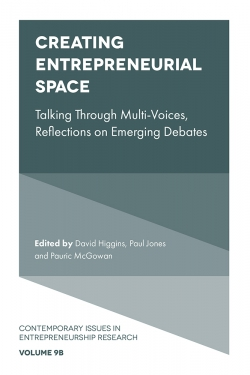 Jacket image for Creating Entrepreneurial Space