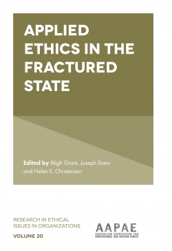 Jacket image for Applied Ethics in the Fractured State
